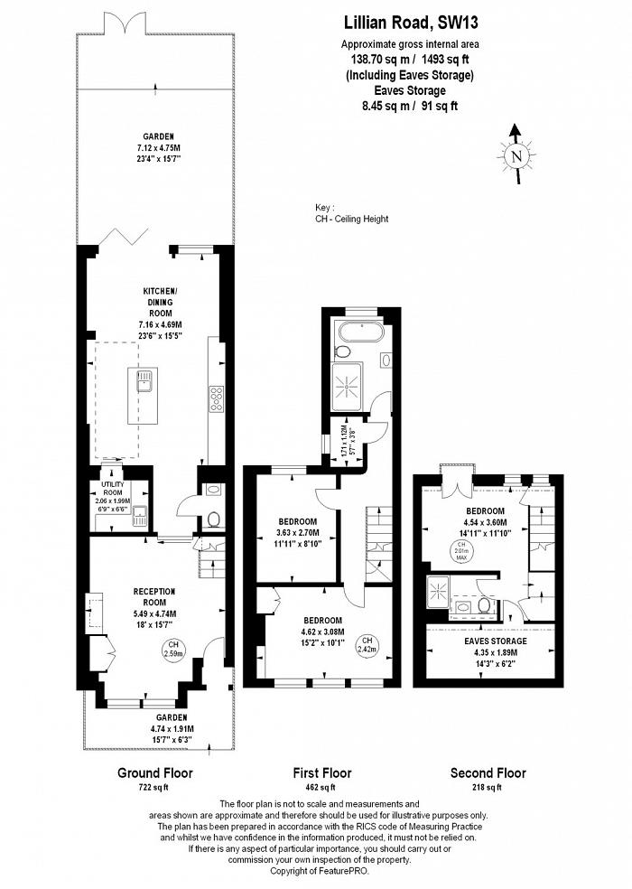Lillian Road, Barnes, SW13 Floorplan