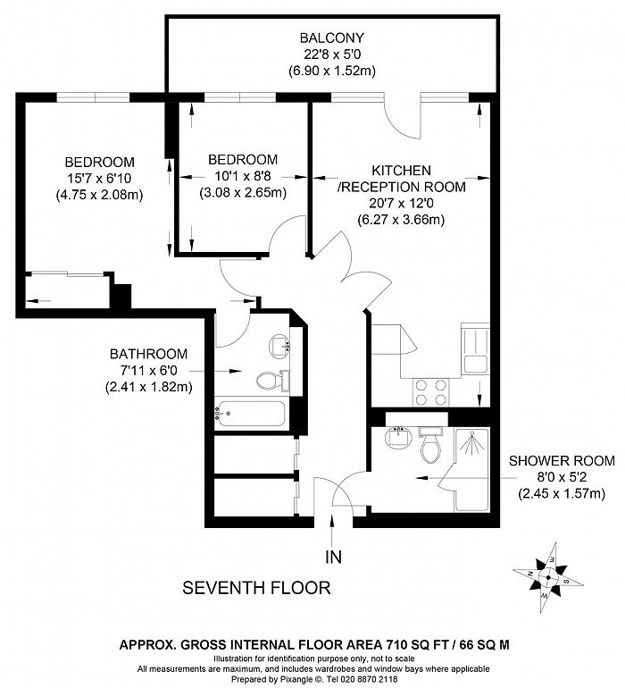 Eustace Building, 372 Queenstown Road, SW11 Floorplan