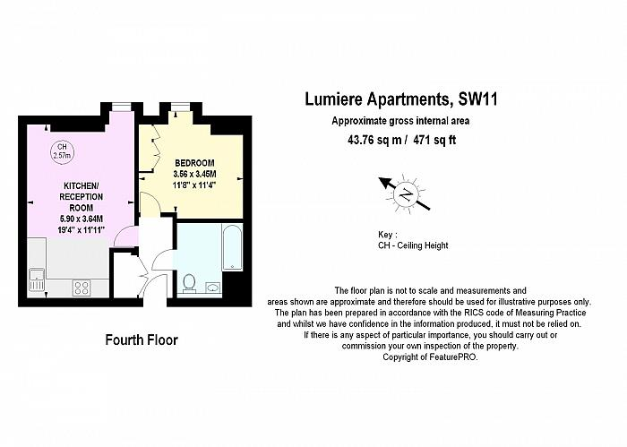 St. John's Hill, Battersea, SW11 Floorplan