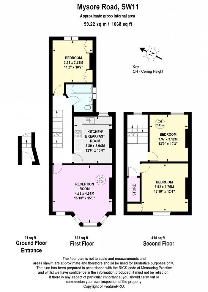 Mysore Road, Battersea, SW11 Floorplan