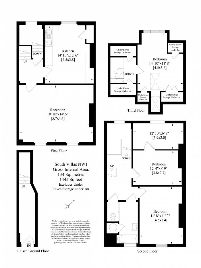 South Villas, Camden Town, NW1 Floorplan