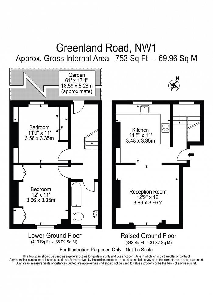 Greenland Road, Camden Town, NW1 Floorplan