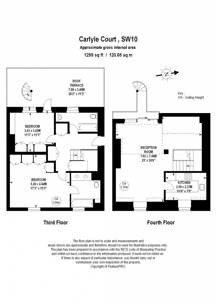 Carlyle Court, Chelsea Harbour, SW10 Floorplan