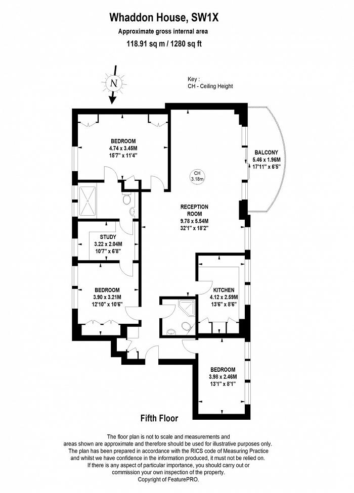 Whaddon House, William Mews, SW1X Floorplan