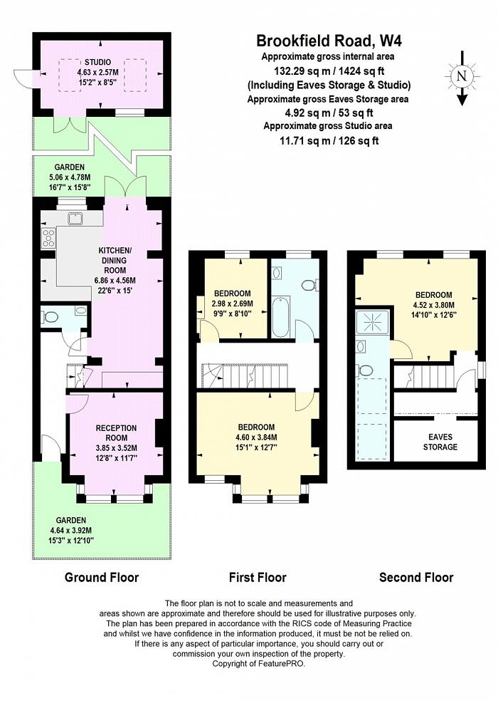 Brookfield Road, Chiswick, W4 Floorplan