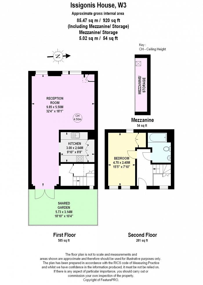 Issigonis House, Cowley Road, W3 Floorplan