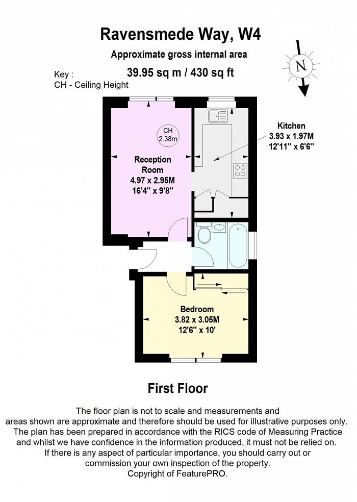 Ravensmede Way, Chiswick, W4 Floorplan