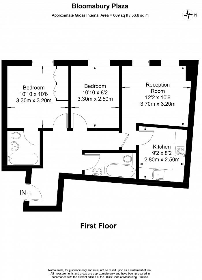 Bloomsbury Plaza, 12-18 Bloomsbury Street, WC1B Floorplan