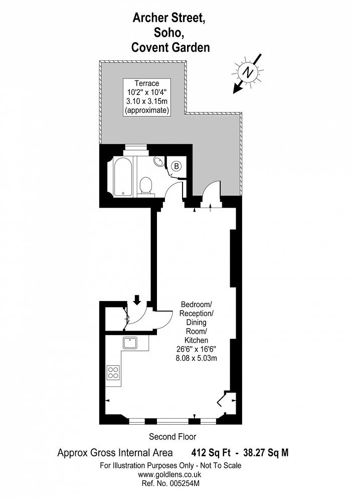 Archer Street, Covent Garden, W1D Floorplan