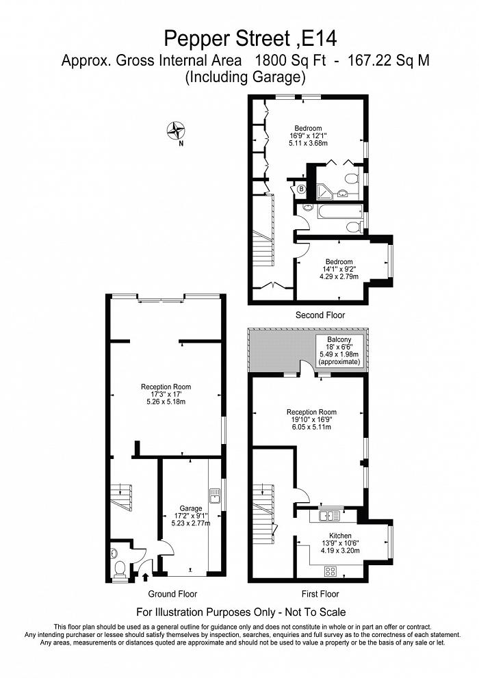 Pepper Street, Isle Of Dogs, E14 Floorplan