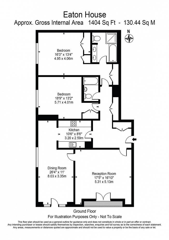 Eaton House, 38 Westferry Circus, E14 Floorplan
