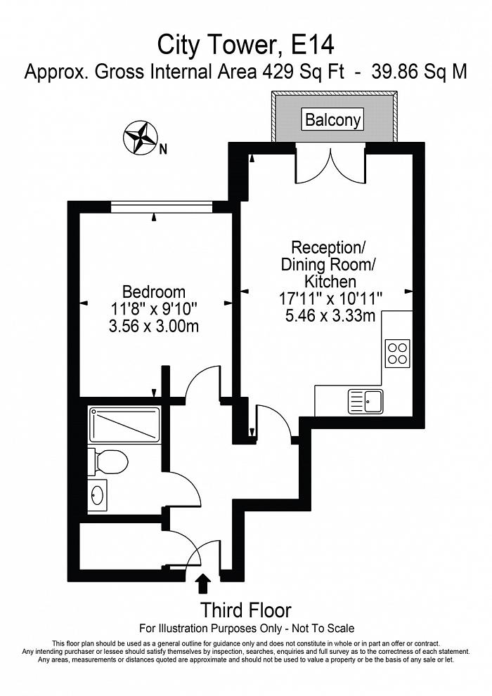Limeharbour, Isle Of Dogs, E14 Floorplan