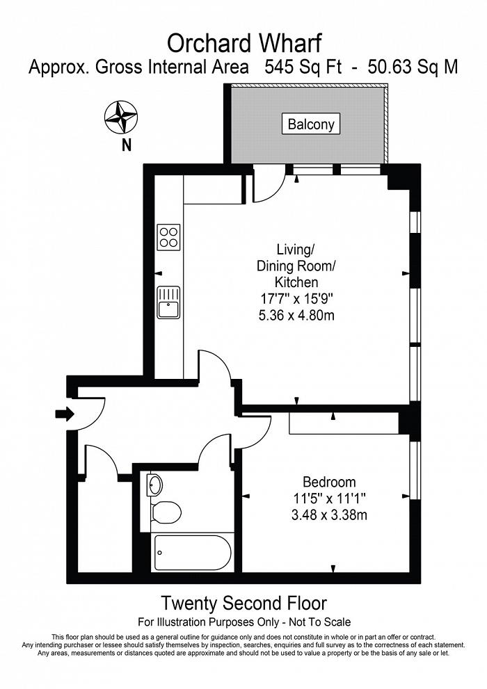 Orchard Wharf, Leamouth Road, E14 Floorplan