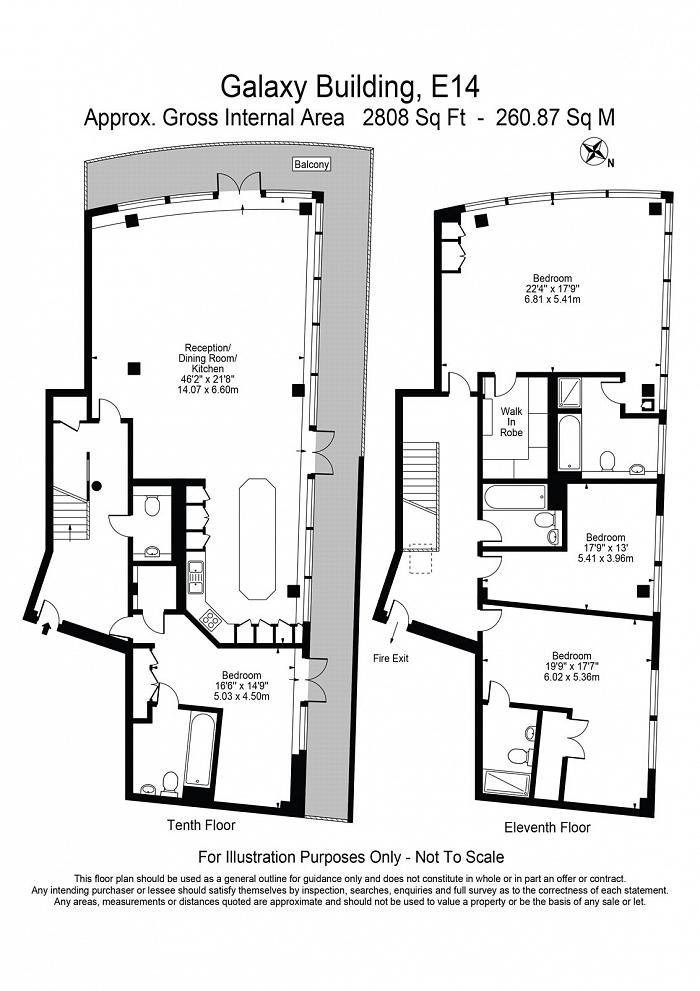 Galaxy Building, The Odyssey, E14 Floorplan