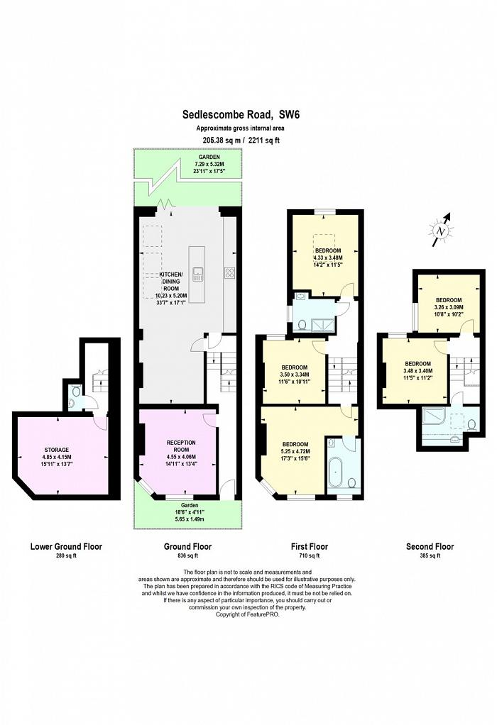 Sedlescombe Road, West Brompton, SW6 Floorplan