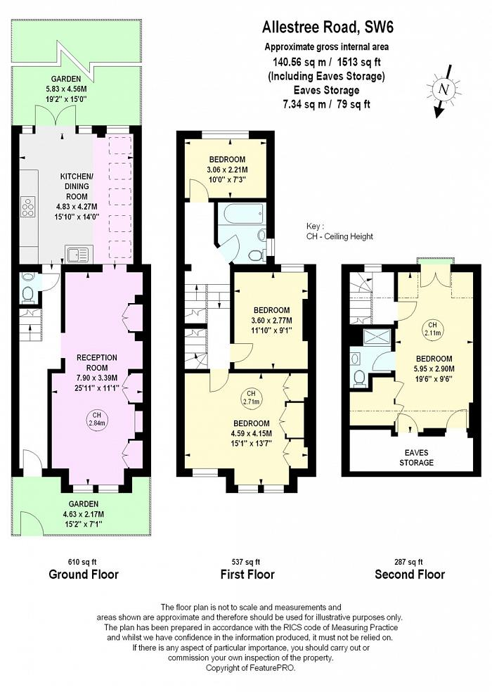Allestree Road, Fulham, SW6 Floorplan