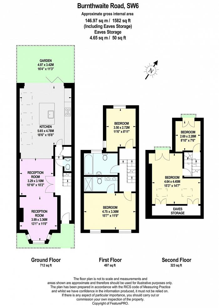 Burnthwaite Road, Fulham, SW6 Floorplan