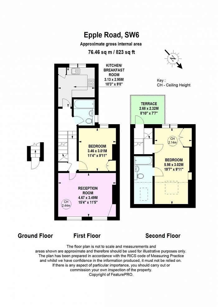 Epple Road, Parsons Green, SW6 Floorplan
