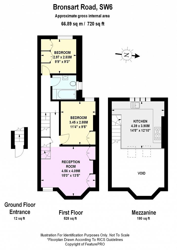 Bronsart Road, Munster Village, SW6 Floorplan