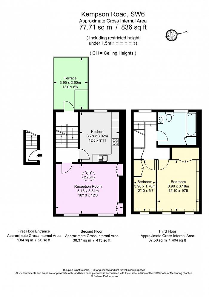 Kempson Road, Fulham Broadway, SW6 Floorplan