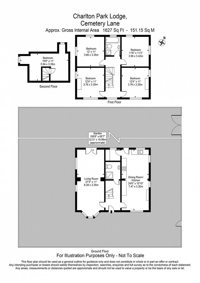 Cemetery Lane, Charlton, SE7 Floorplan