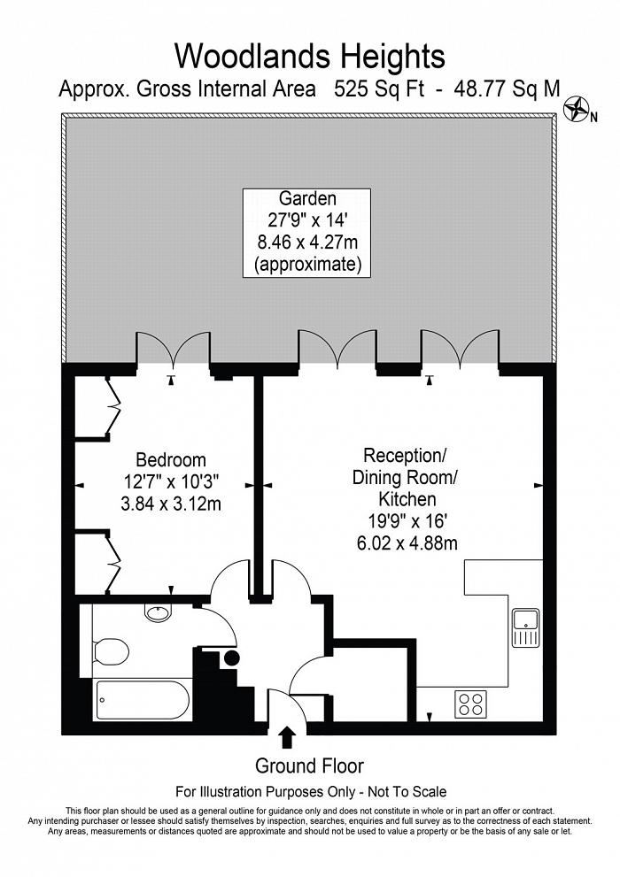 Woodlands Heights, Vanbrugh Hill, SE3 Floorplan