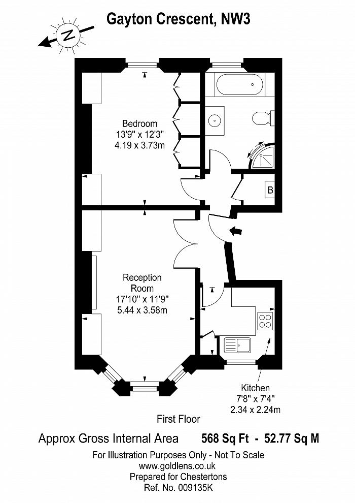 Gayton Crescent, Hampstead, NW3 Floorplan