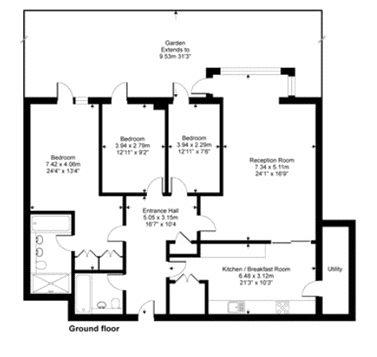 Pulse Apartments, 52 Lymington Road, NW6 Floorplan