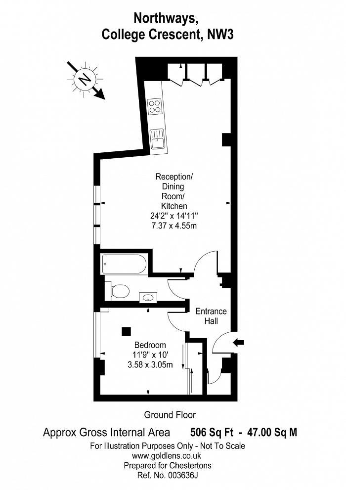 Northways, College Crescent, NW3 Floorplan