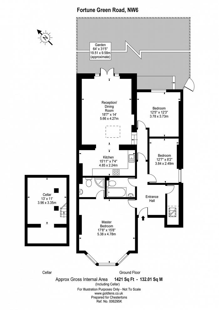 Fortune Green Road, West Hampstead, NW6 Floorplan