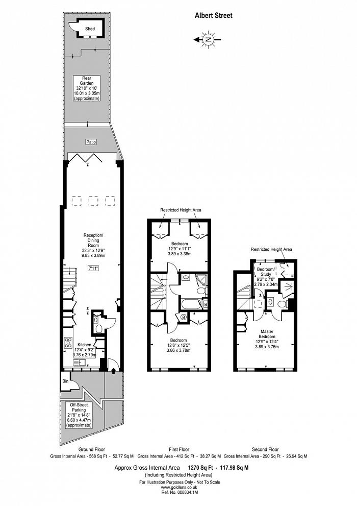 Albert Street, Mornington Crescent, NW1 Floorplan