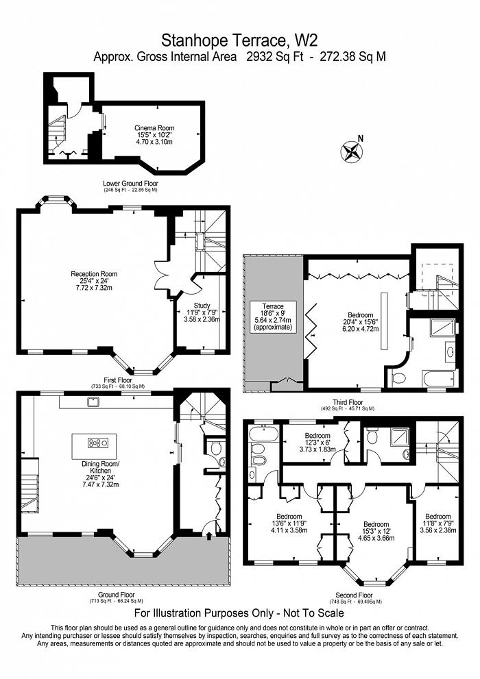 Stanhope Terrace, Connaught Village, W2 Floorplan