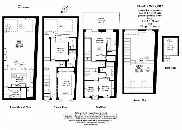 Elvaston Mews, South Kensington, SW7 Floorplan