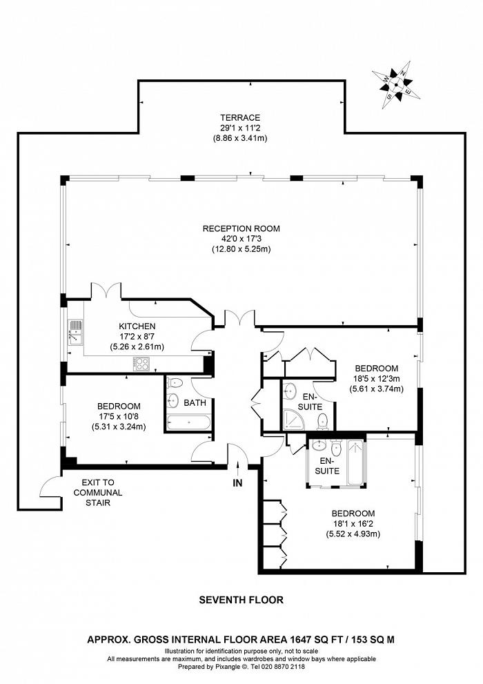 Dolphin House, Smugglers Way, SW18 Floorplan
