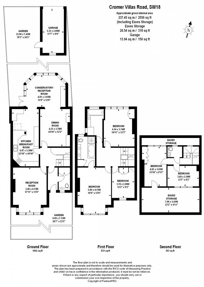 Cromer Villas Road, West Hill, SW18 Floorplan