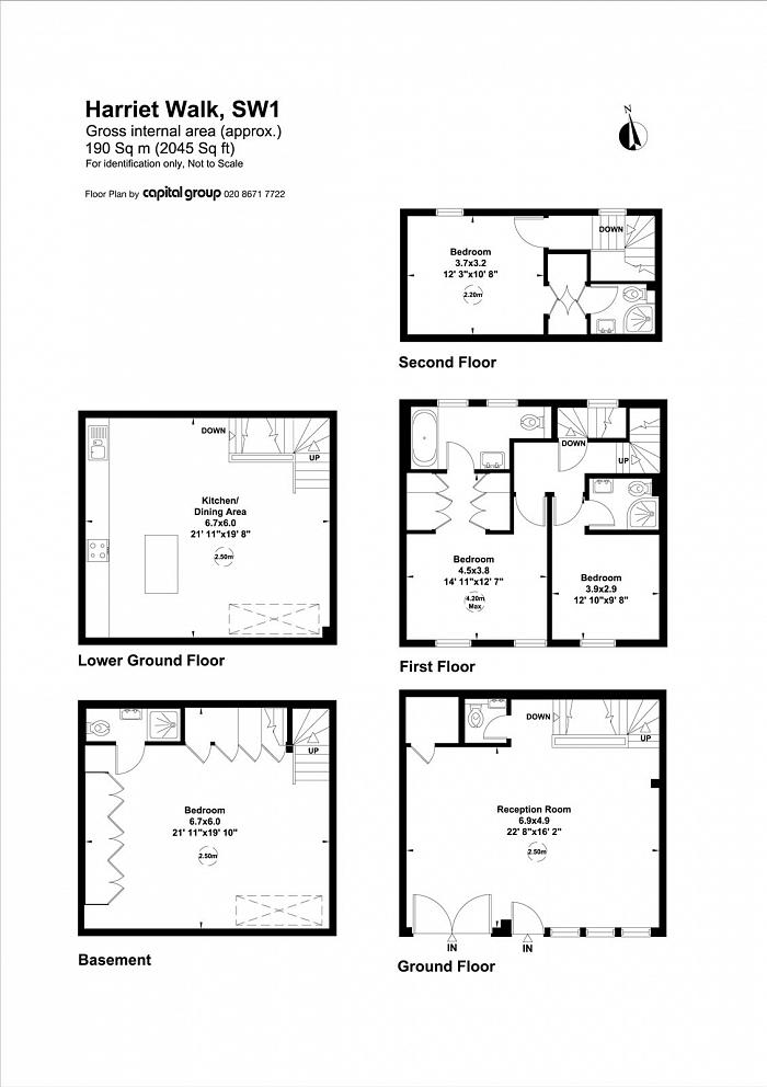 Harriet Walk, Knightsbridge, SW1X Floorplan