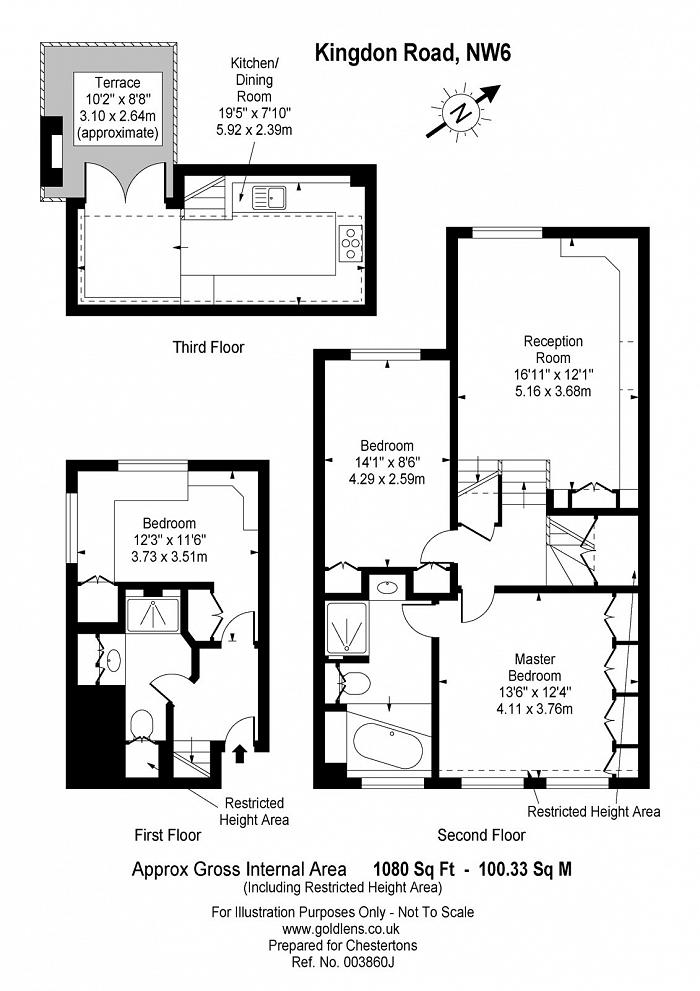 Kingdon Road, West Hampstead, NW6 Floorplan