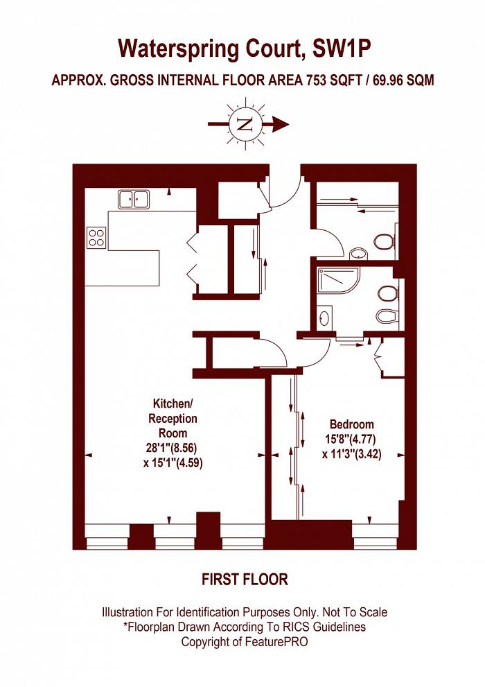 Waterspring Court, Westminster, SW1P Floorplan