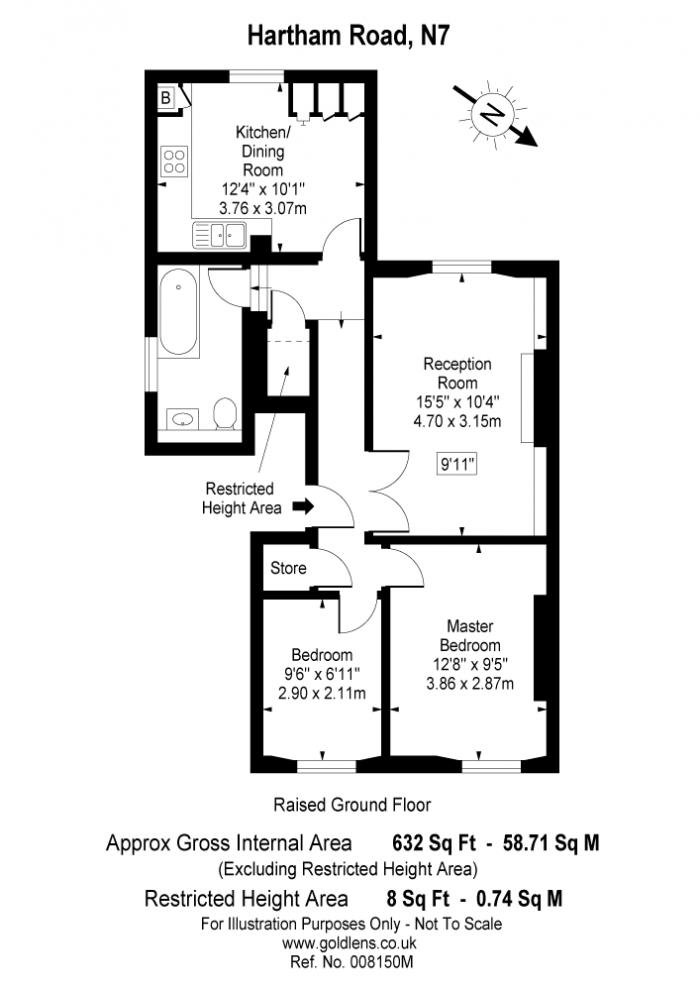 Hartham Road, Hillmarton Conservation Area, N7 Floorplan