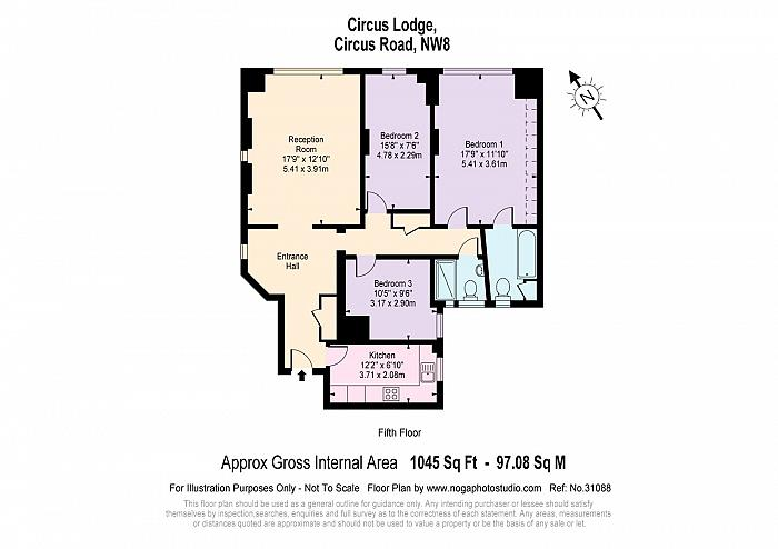 Circus Lodge, Circus Road, NW8 Floorplan