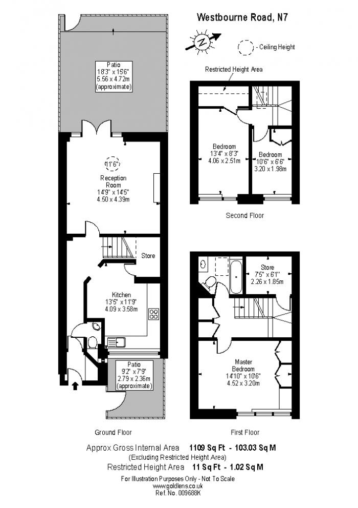 Westbourne Road, Lower Holloway, N7 Floorplan