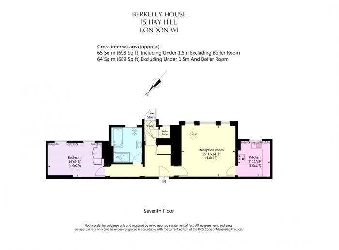 Berkeley House, 15 Hay Hill, W1J Floorplan