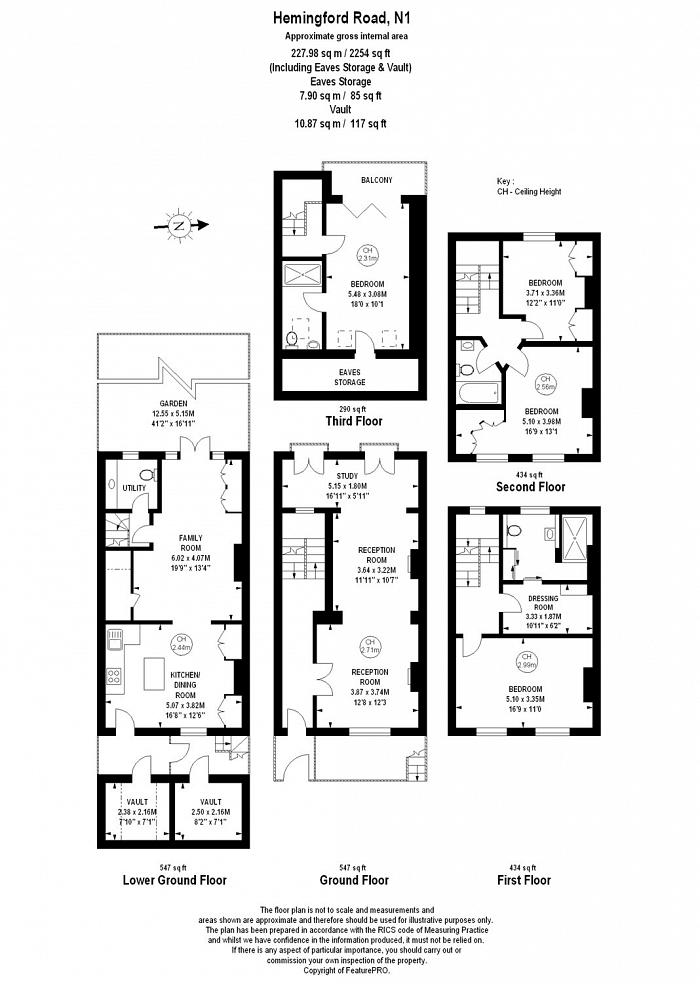 Hemingford Road, Islington Central, N1 Floorplan