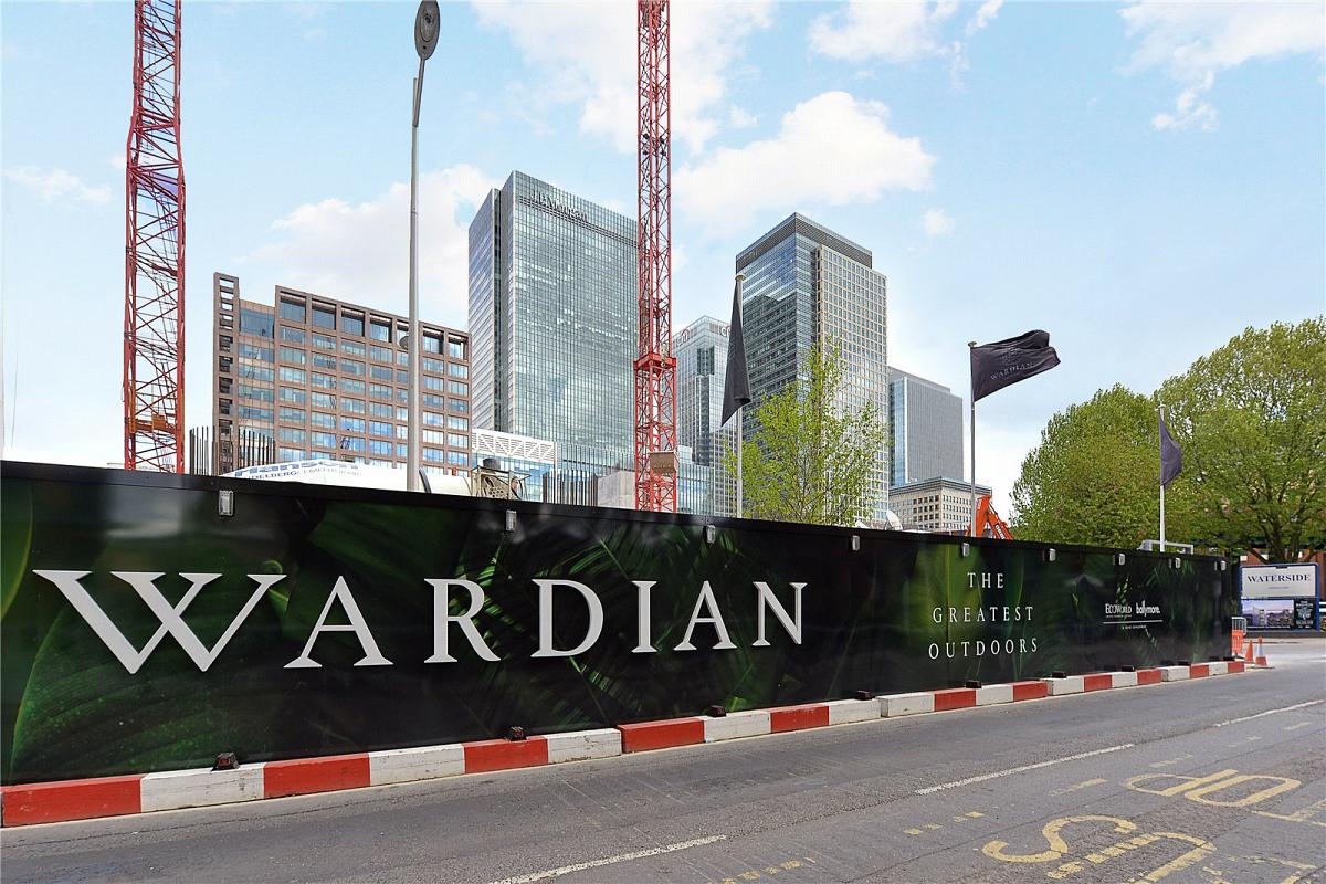 The Wardian, Marsh Wall, E14