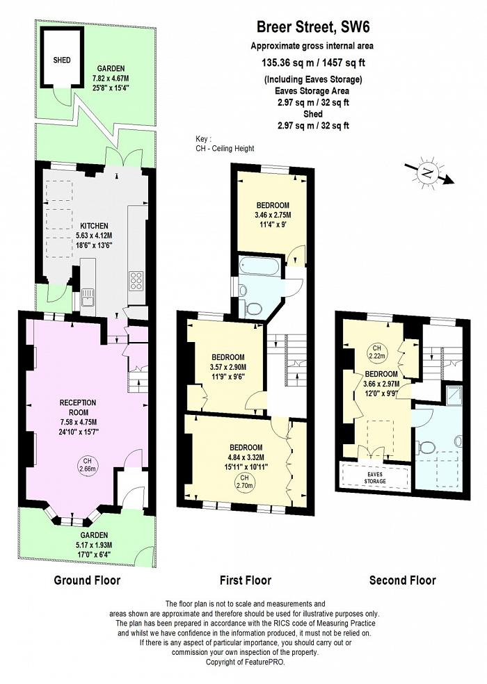Breer Street, South Park, SW6 Floorplan