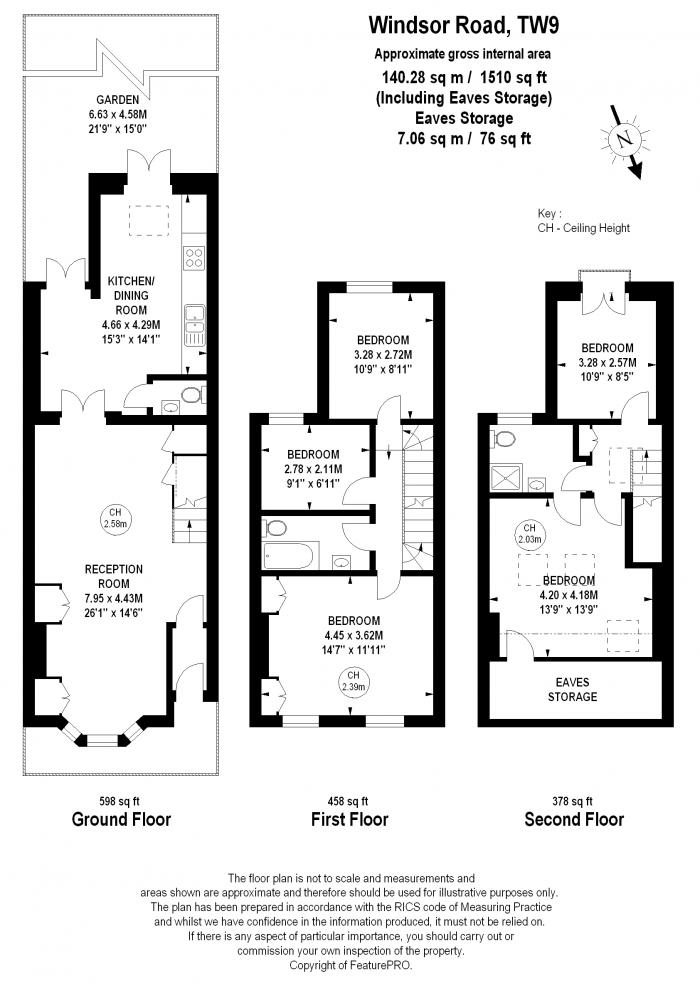Windsor Road, Kew, TW9 Floorplan