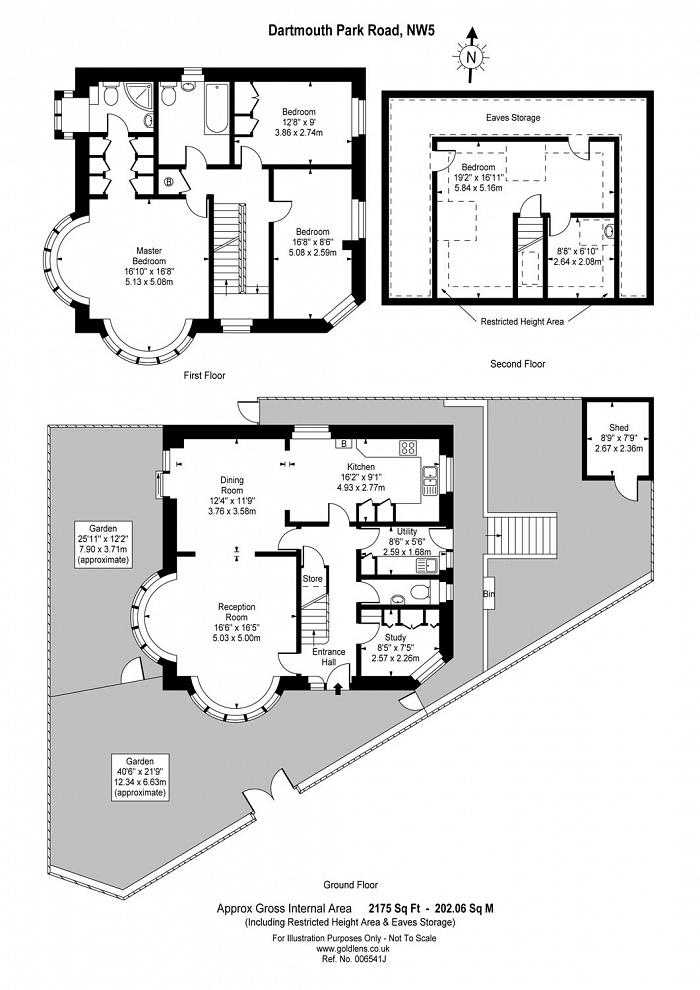 Dartmouth Park Avenue, Dartmouth Park, NW5 Floorplan