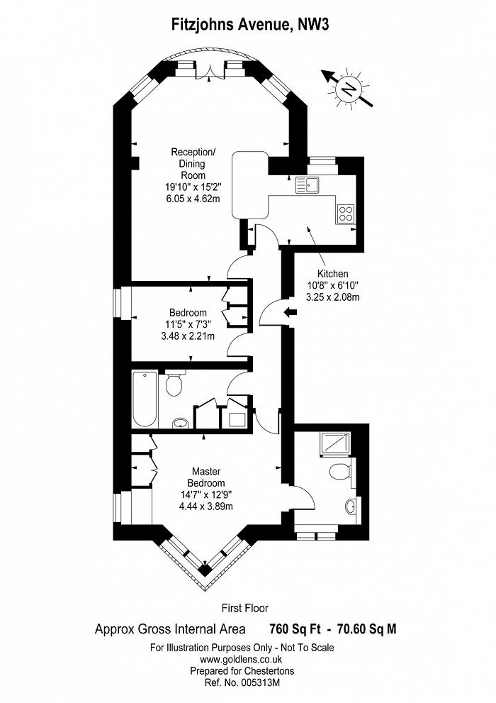 Fitzjohns Avenue, Hampstead, NW3 Floorplan