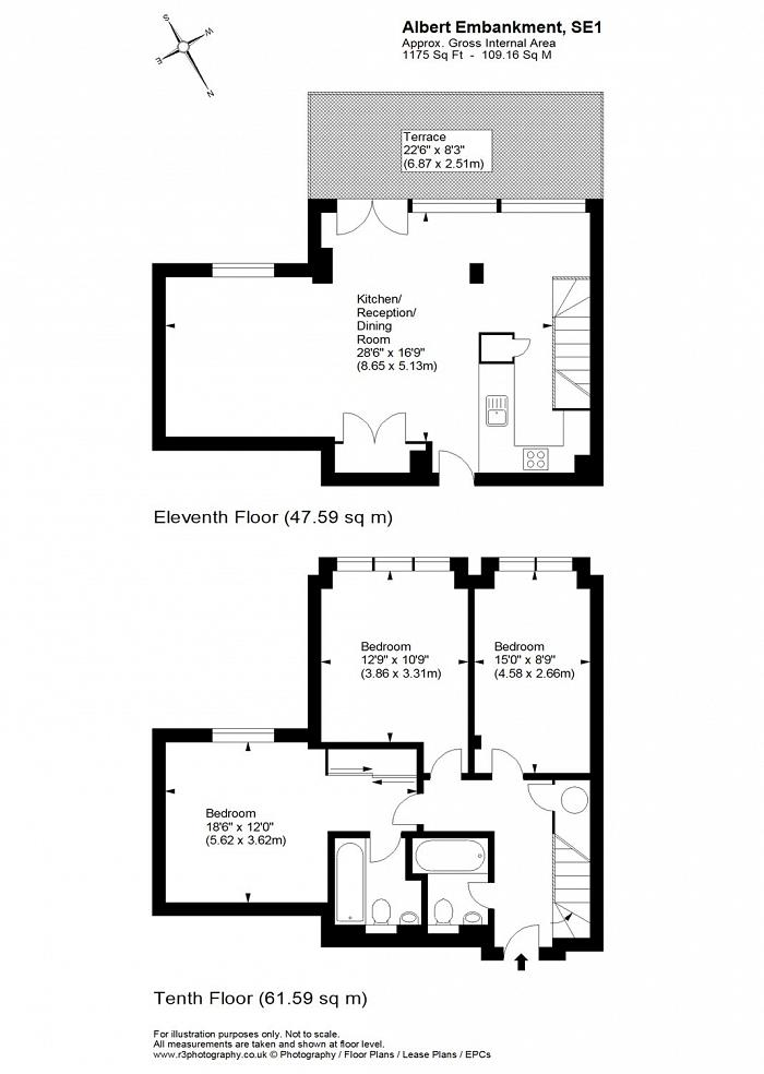 Albert Embankment, Albert Embankment, SE1 Floorplan