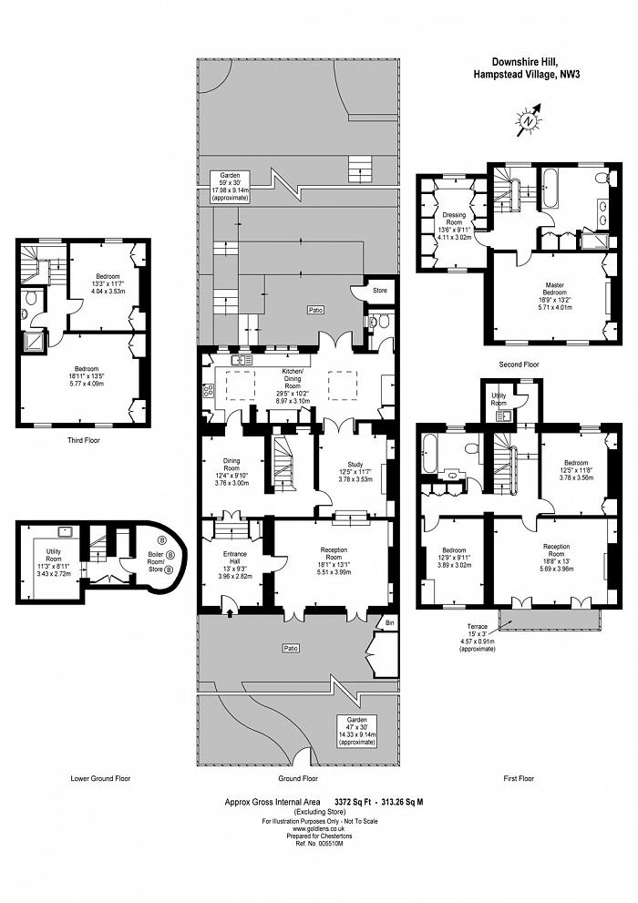 Downshire Hill, Hampstead, NW3 Floorplan